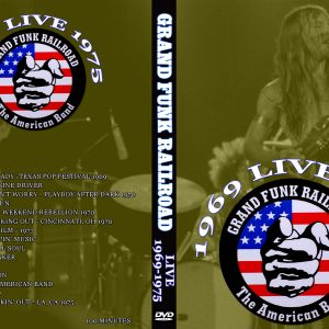 Grand Funk Railroad Live 1969-1975