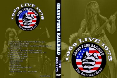 Grand Funk Railroad Live 1969-1975