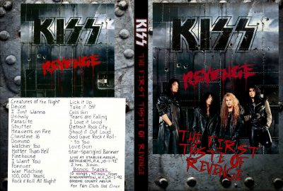Kiss - The First Taste of Revenge
