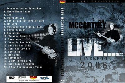 Paul McCartney - Liverpool 2008