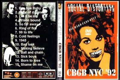 Social Distortion – CBGB, NYC '92