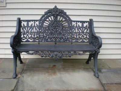 Gothic French Garden Bench