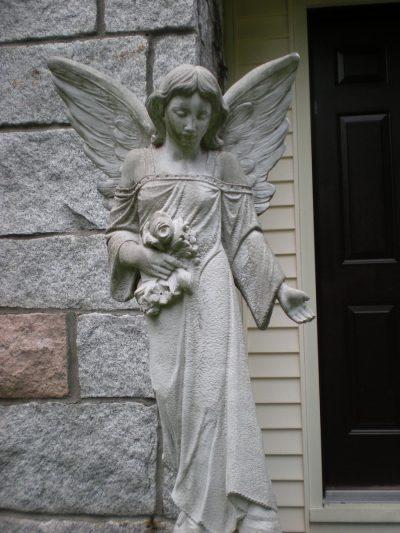 Stone Gothic Garden Angel