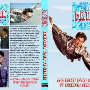 Mr. Terrific TV Show 1967 Complete Series - 4 Disk DVD Set