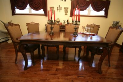 Gothic Dining Room Set