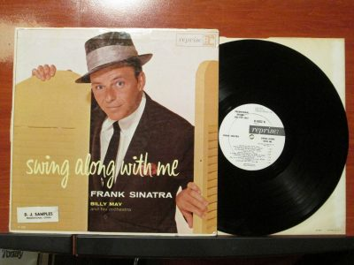 Frank Sinatra _ Swing Along With Me - Reprise R1002 - White Label Promo - Sweet N Evil