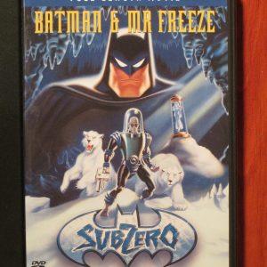 Batman & Mr. Freeze - Sub Zero - DVD - Sweet N Evil