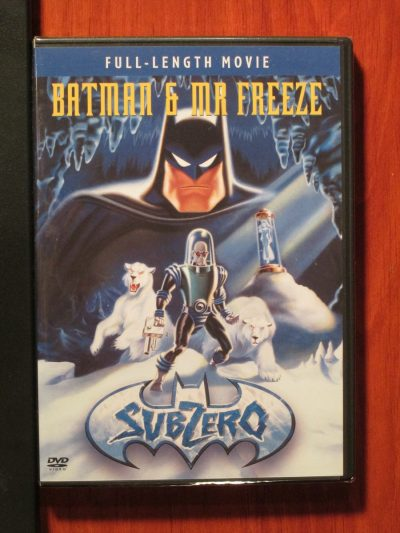Batman & Mr. Freeze - Sub Zero - DVD - Sweet N Evil