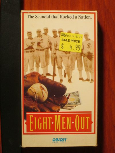 Eight Men Out VHS - Sweet N Evil