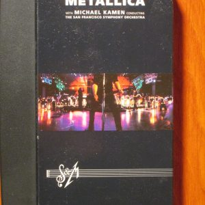 Metallica S/M VHS - Sweet N Evil