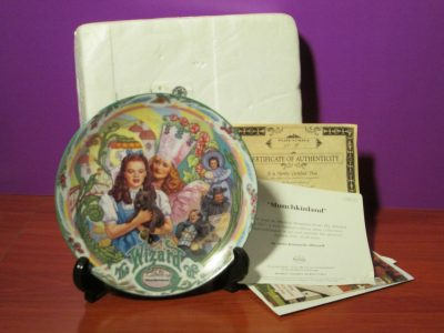 The Wizard of Oz - Munchkinland Music Plate - Sweet N Evil