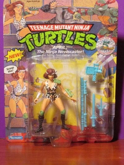 Playmates - TMNT April O'Neal - Sweet N Evil