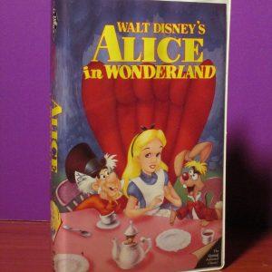 Disney - Alice in Wonderland - VHS - Sweet N Evil