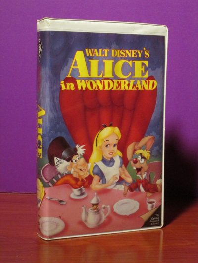 Disney - Alice in Wonderland - VHS - Sweet N Evil
