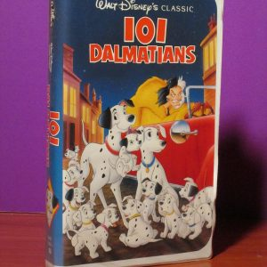 Disney - 101 Dalmations - VHS - Sweet N Evil