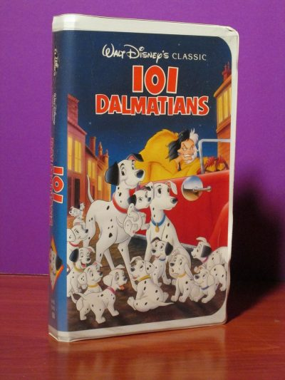 Disney - 101 Dalmations - VHS - Sweet N Evil