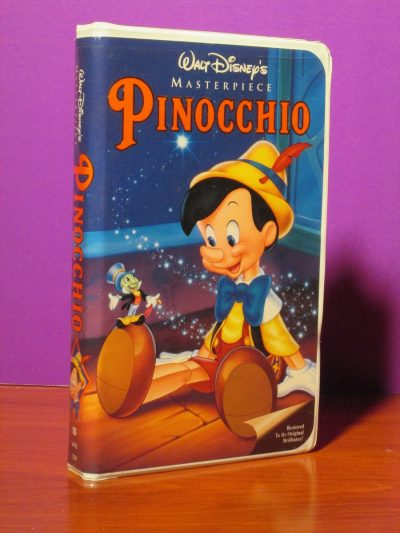 Disney Masterpiece - Pinocchio - VHS - Sweet N Evil