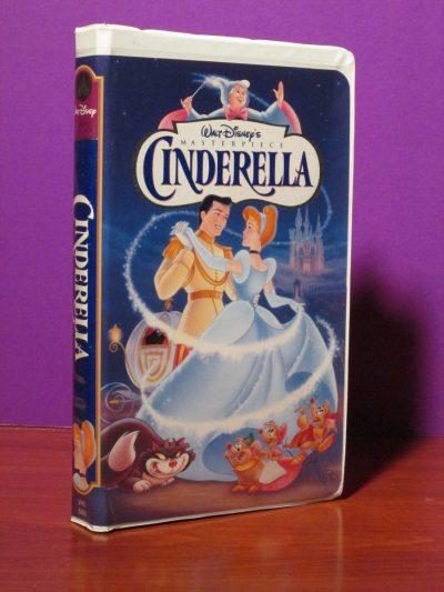 Disney Masterpiece - Cinderella - VHS - Sweet N Evil