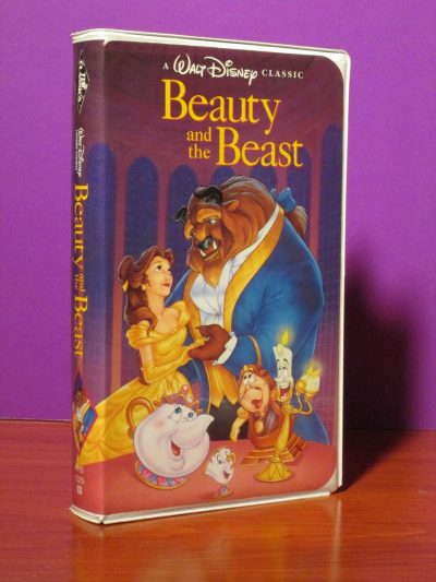 Disney - Beauty and the Beast - VHS - Sweet N Evil