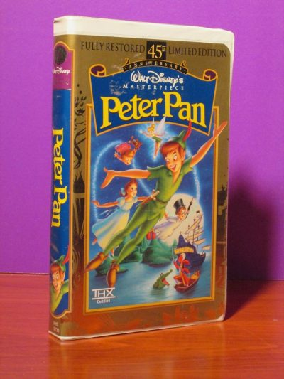 Disney Masterpiece - Peter Pan - VHS - Sweet N Evil