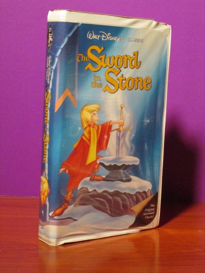 Disney - Sword in the Stone - VHS - Sweet N Evil