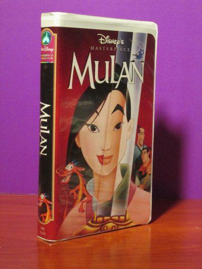 Disney Masterpiece - Mulan - VHS - Sweet N Evil