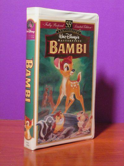 Disney Masterpiece - Bambi - VHS - Sweet N Evil