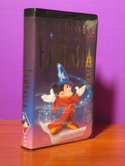 Disney Masterpiece - Fantasia - VHS - Sweet N Evil