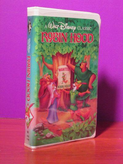 Disney - Robin Hood - VHS - Sweet N Evil