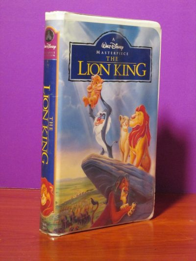 Disney Masterpiece - Lion King - VHS - Sweet N Evil