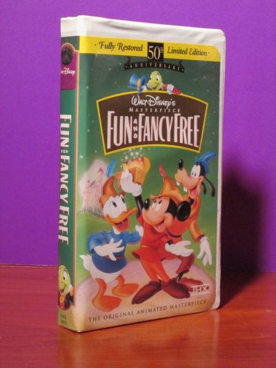 Disney Masterpiece - Fun and Fancy Free - VHS - Sweet N Evil