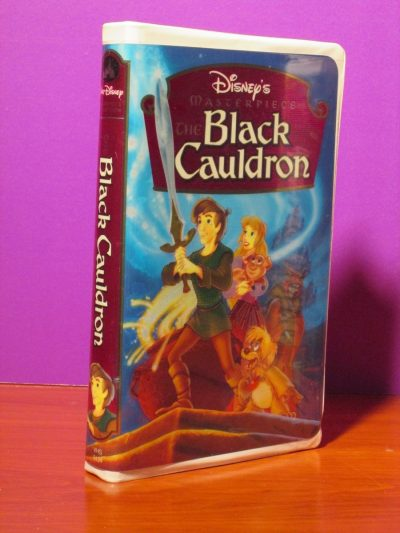 Disney Masterpiece - Black Cauldron - VHS - Sweet N Evil