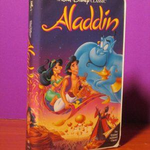 Disney - Aladdin - VHS - Sweet N Evil
