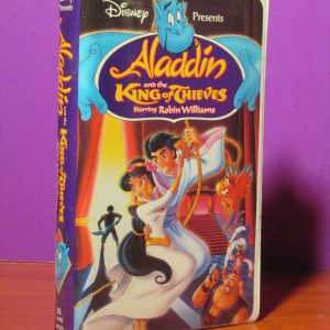 Disney - Aladdin and the King of Thieves - VHS - Sweet N Evil