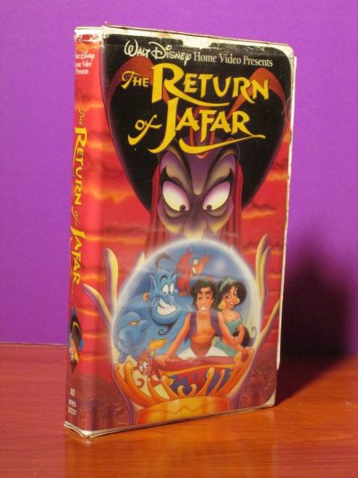 Disney - The Return of Jafar - VHS - Sweet N Evil