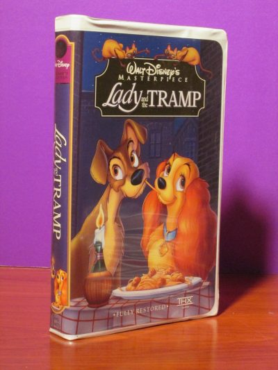 Disney Masterpiece - Lady and the Tramp - VHS - Sweet N Evil