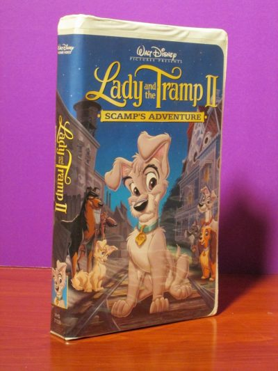 Disney - Lady and the Tramp II - VHS - Sweet N Evil