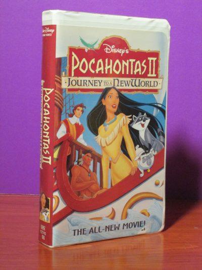 Disney Masterpiece - Pocahontas II - VHS - Sweet N Evil