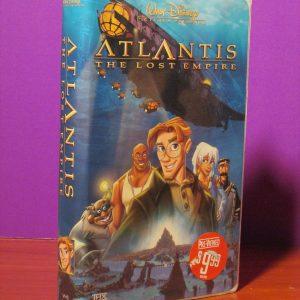Disney - Atlantis - VHS - Sweet N Evil