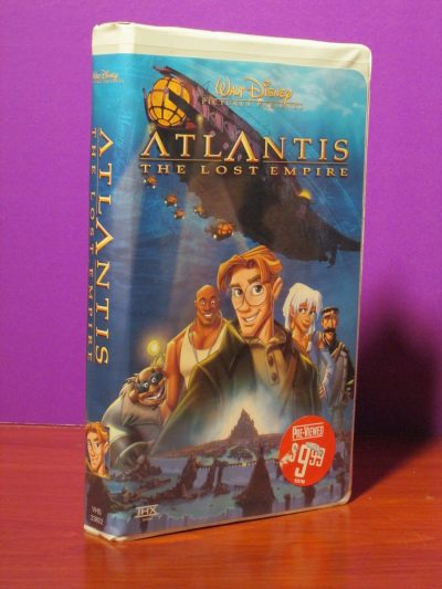 Disney - Atlantis - VHS - Sweet N Evil