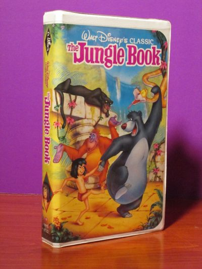 Disney - The Jungle Book - VHS - Sweet N Evil