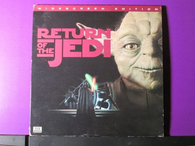Star Wars - Return of the Jedi - Laser Disk - Laser Vision - Sweet N Evil