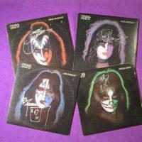 Autographed Kiss Solo Albums - Sweet N Evil