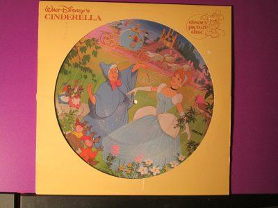 Walt Disney's Cinderella - Picture Disk - Sweet N Evil