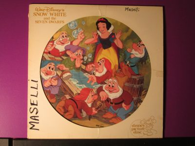 Walt Disney's Snow White - Picture Disk - Sweet N Evil