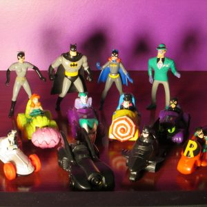 Batman Adventures McDonalds Happy Meal Toys - Sweet N Evil